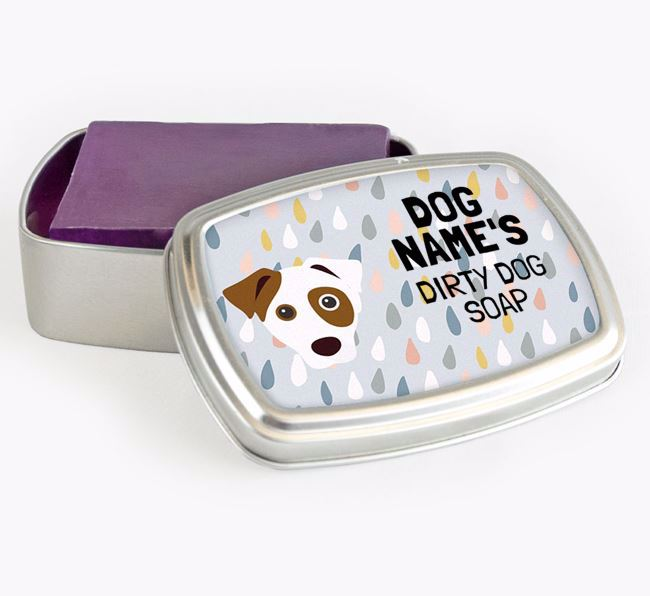 Personalised 'Dirty Dog' Soap Tin for your Dog