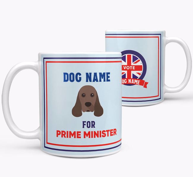 Personalised 'Prime Minister' Mug for your American Cocker Spaniel