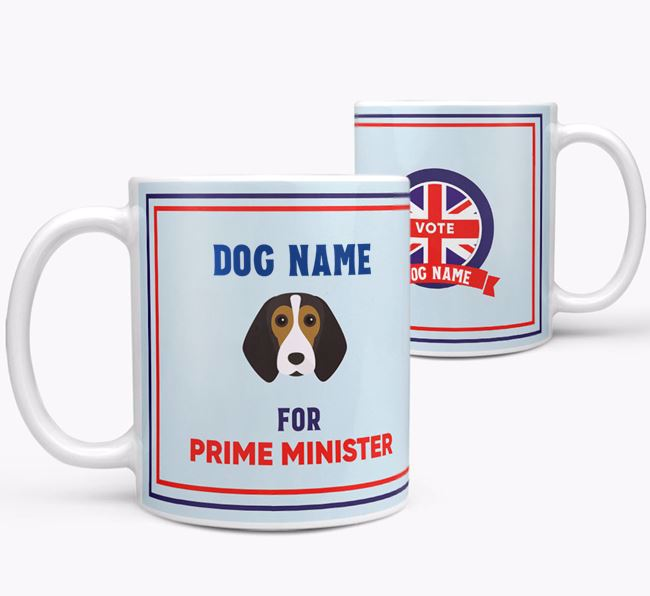 Personalised 'Prime Minister' Mug for your Beagle
