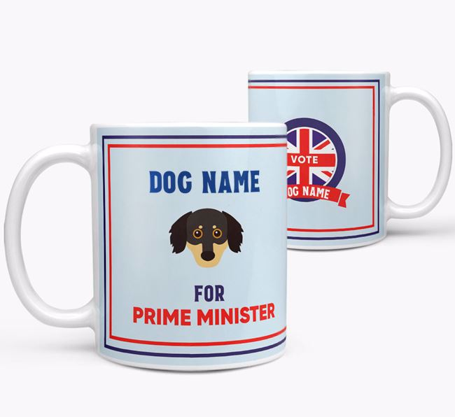 Personalised 'Prime Minister' Mug for your Chiweenie