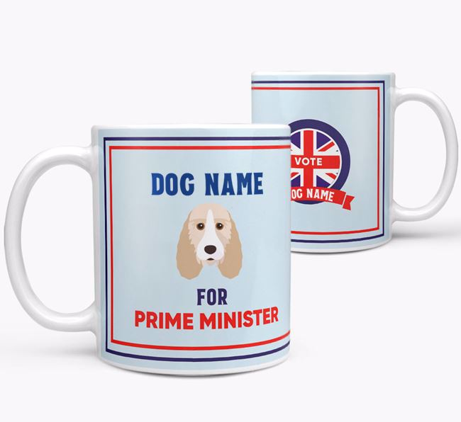 Personalised 'Prime Minister' Mug for your Grand Basset Griffon Vendeen