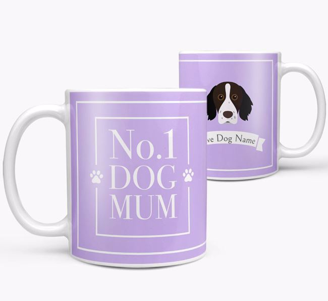 Personalised 'No.1 Mum' Mug from your Brittany