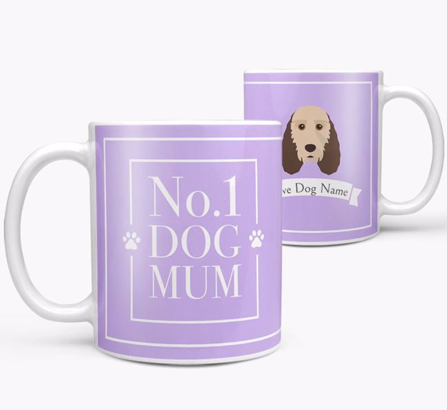Personalised 'No.1 Mum' Mug from your Grand Basset Griffon Vendeen