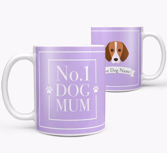 Personalised 'No.1 Mum' Mug from your Harrier
