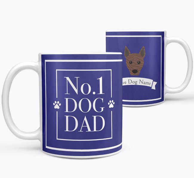 Personalised 'No.1 Dad' Mug from your Basenji