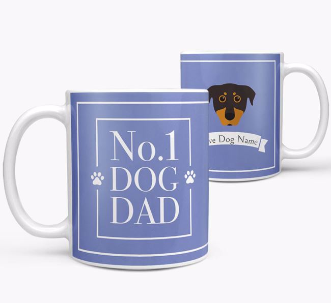 Personalised 'No.1 Dad' Mug from your Beauceron