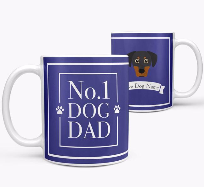 Personalised 'No.1 Dad' Mug from your Blue Lacy