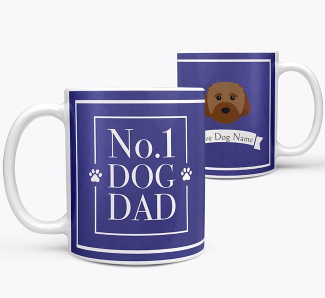 Personalised 'No.1 Dad' Mug from your Cavachon