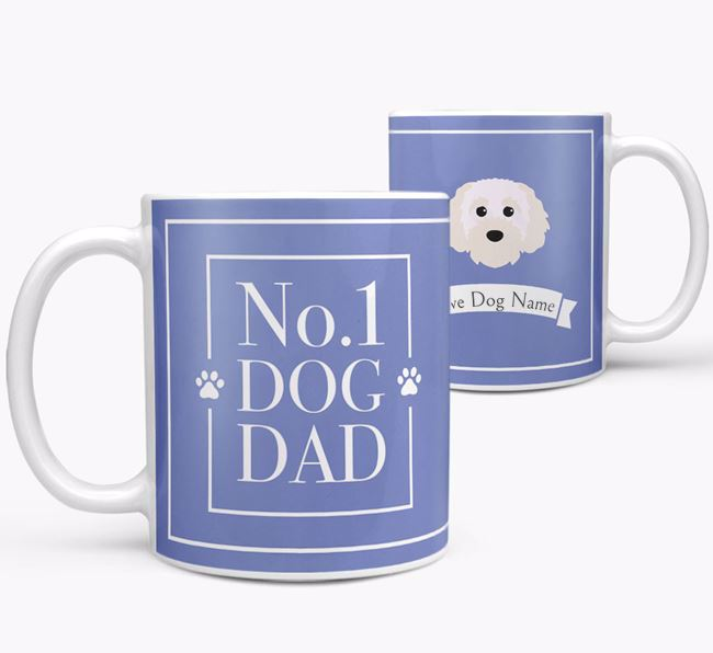 Personalised 'No.1 Dad' Mug from your Cavapoochon
