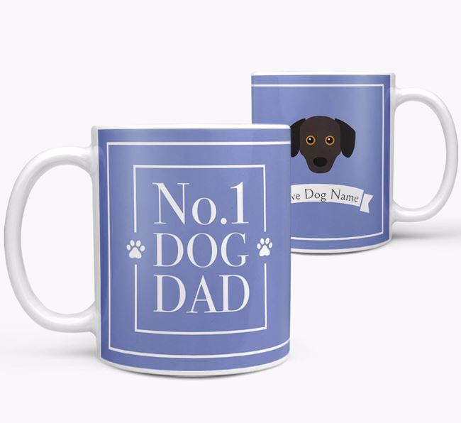 Personalised 'No.1 Dad' Mug from your Chiweenie