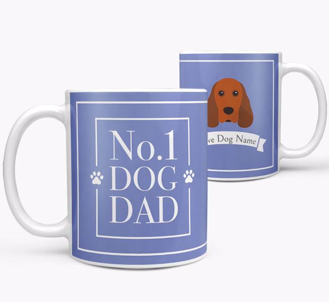 Personalised 'No.1 Dad' Mug from your Cocker Spaniel