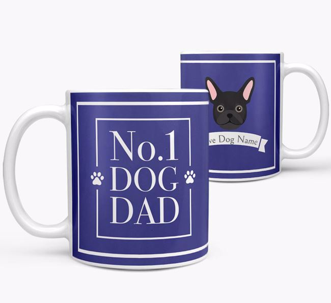 Personalised 'No.1 Dad' Mug from your Frug