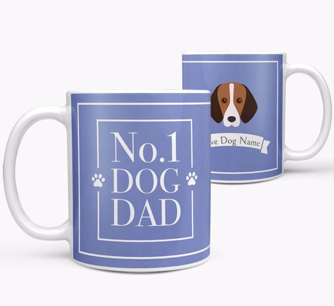 Personalised 'No.1 Dad' Mug from your Harrier
