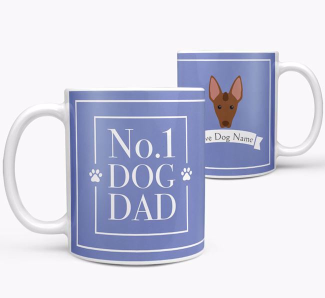 Personalised 'No.1 Dad' Mug from your Mexican Hairless