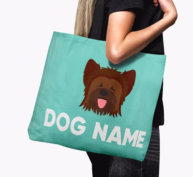 Personalised Your Dog Icon Canvas Bag