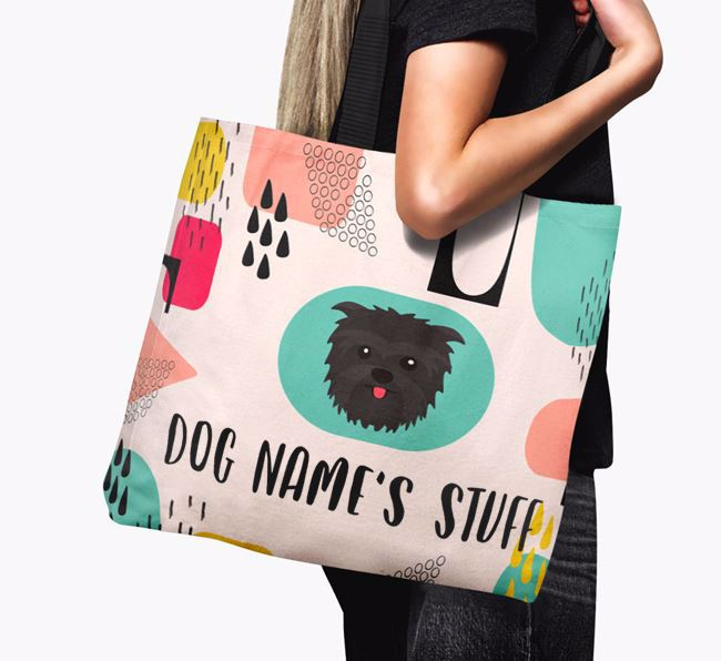 Personalised Your Dog 'Stuff' Canvas Bag