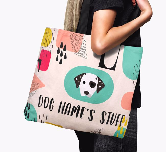 Personalized Your Dog 'Stuff' Canvas Bag