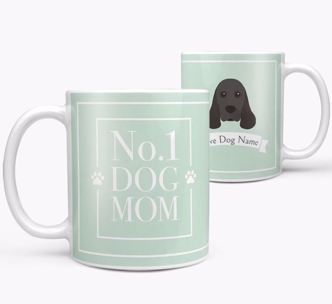 Personalised 'No.1 Mom' Mug from your American Cocker Spaniel