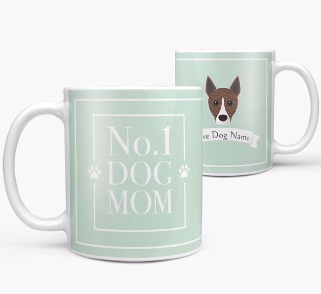 Personalised 'No.1 Mom' Mug from your Basenji