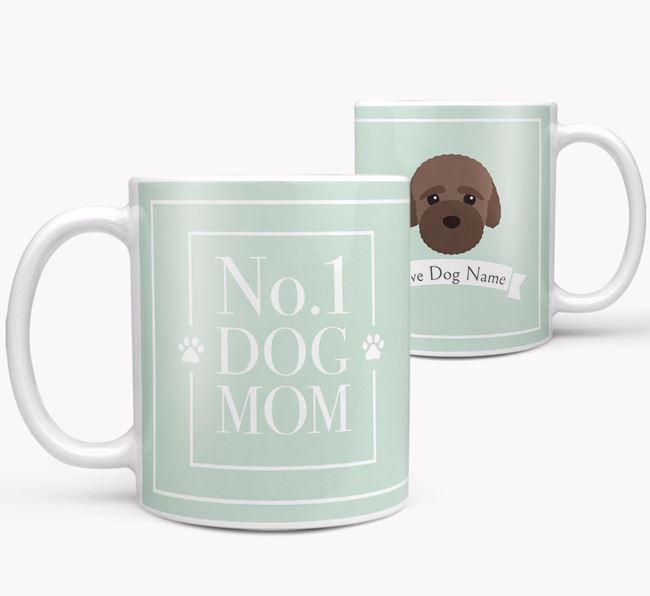 Personalised 'No.1 Mom' Mug from your Bich-poo