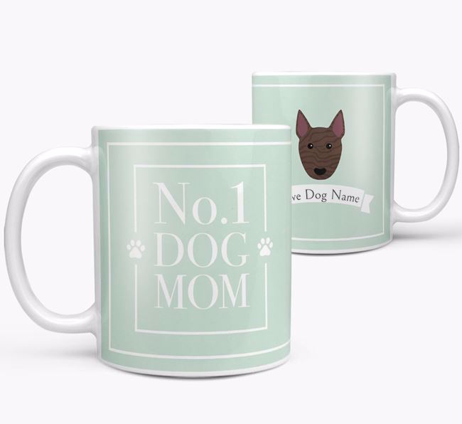 Personalised 'No.1 Mom' Mug from your Bull Terrier