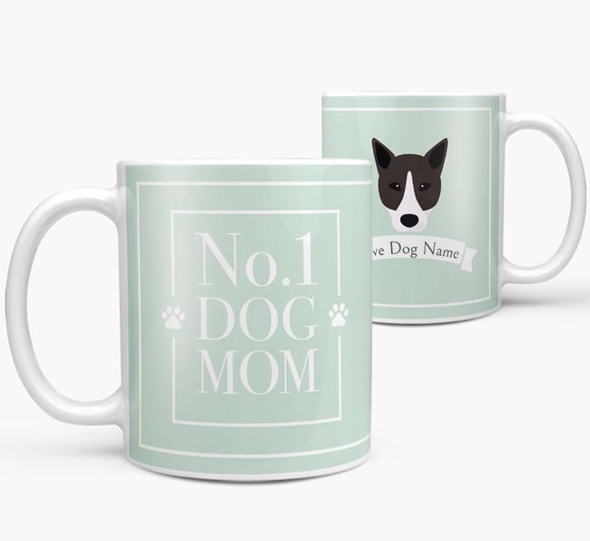Personalised 'No.1 Mom' Mug from your Canaan Dog