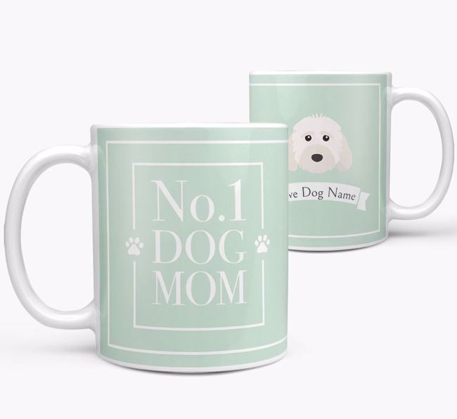 Personalised 'No.1 Mom' Mug from your Cockapoo