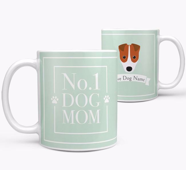 Personalised 'No.1 Mom' Mug from your Fox Terrier