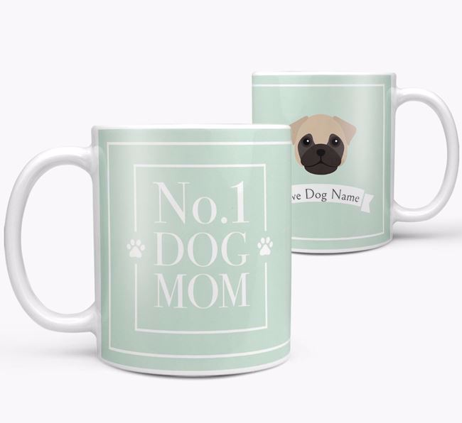 Personalised 'No.1 Mom' Mug from your Frug