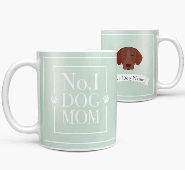 Personalised 'No.1 Mom' Mug from your German Shorthaired Pointer