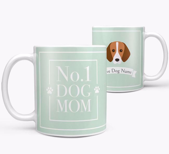Personalised 'No.1 Mom' Mug from your Harrier