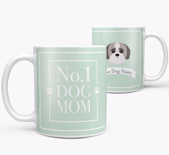 Personalised 'No.1 Mom' Mug from your Jack-A-Poo