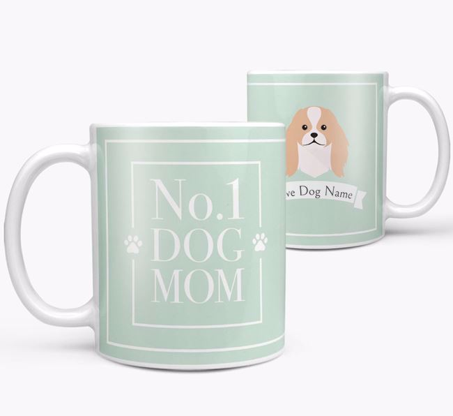 Personalised 'No.1 Mom' Mug from your Japanese Chin