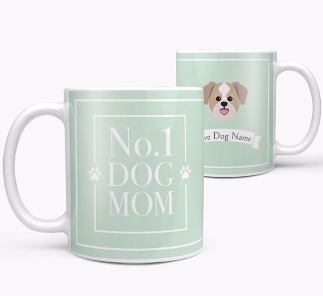Personalised 'No.1 Mom' Mug from your Lachon