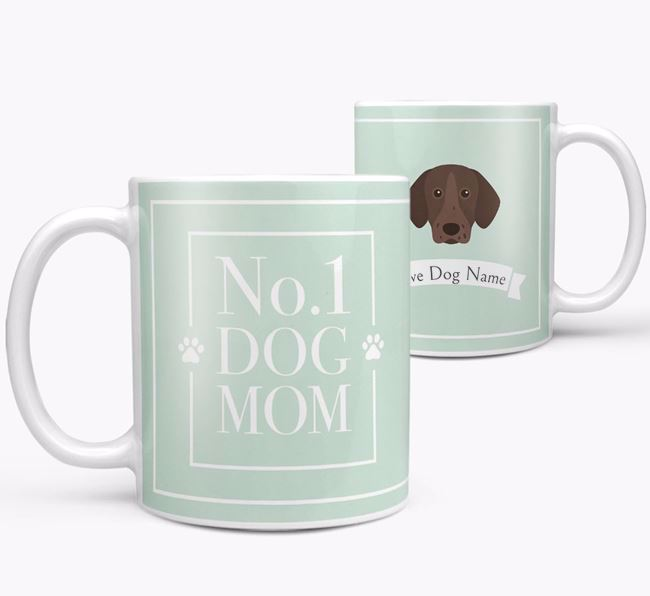 Personalised 'No.1 Mom' Mug from your Pointer
