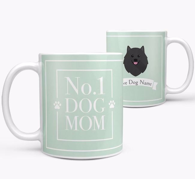 Personalised 'No.1 Mom' Mug from your Pomeranian