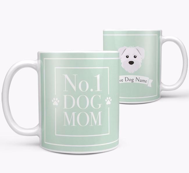 Personalised 'No.1 Mom' Mug from your Schnoodle