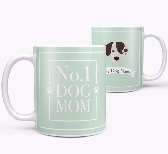 Personalised 'No.1 Mom' Mug from your Siberian Cocker