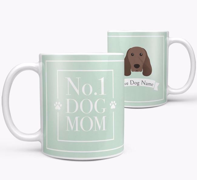 Personalised 'No.1 Mom' Mug from your Springer Spaniel