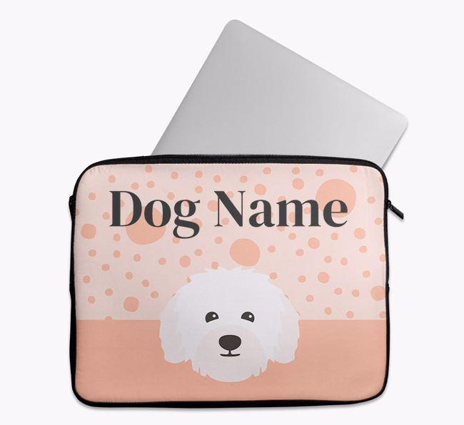 Personalised Tech Pouch with Bolognese Icon
