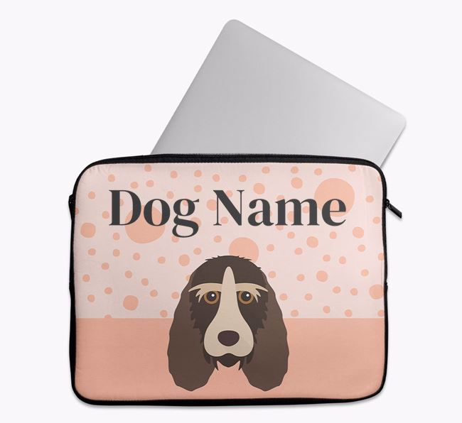 Personalised Tech Pouch with Grand Basset Griffon Vendeen Icon