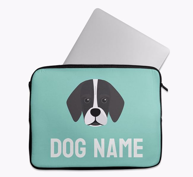 Personalised Bright & Bold Tech Pouch with Bassugg Icon