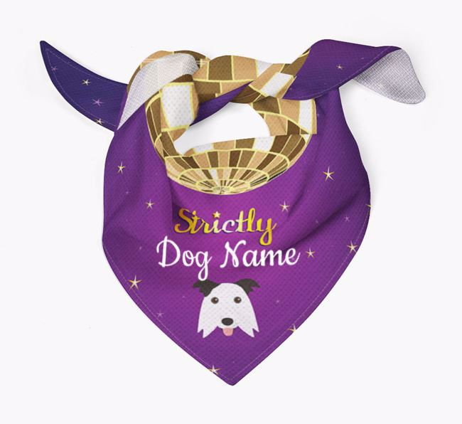Personalised 'Strictly' Bandana for your Border Collie
