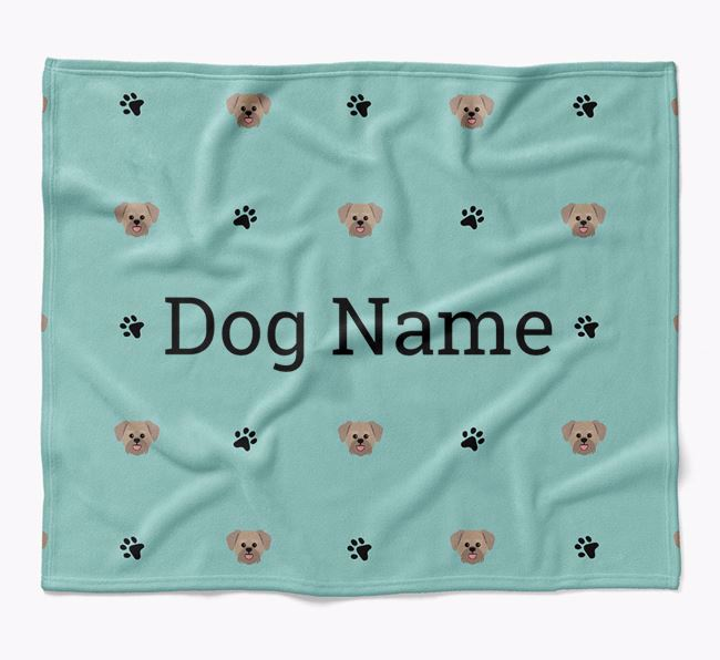 Personalized Blanket with Lachon Icon Print