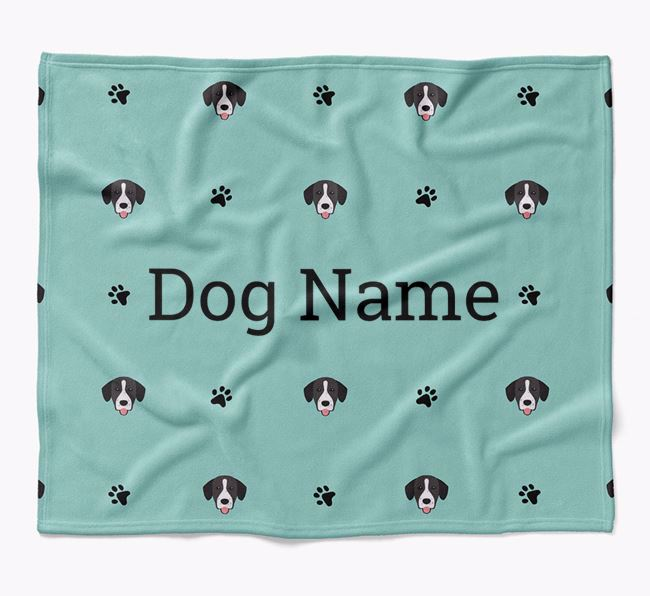 Personalized Blanket with Springador Icon Print