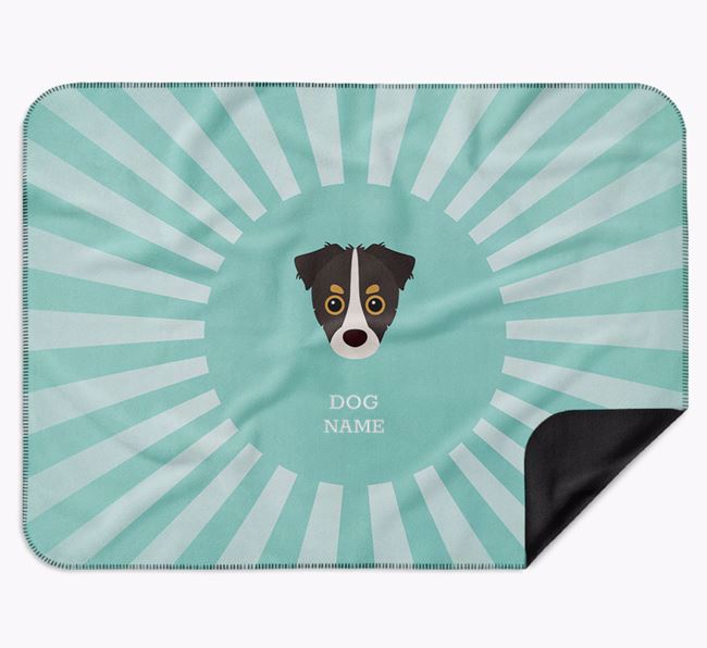 Personalised Rays Blanket for your Chipoo
