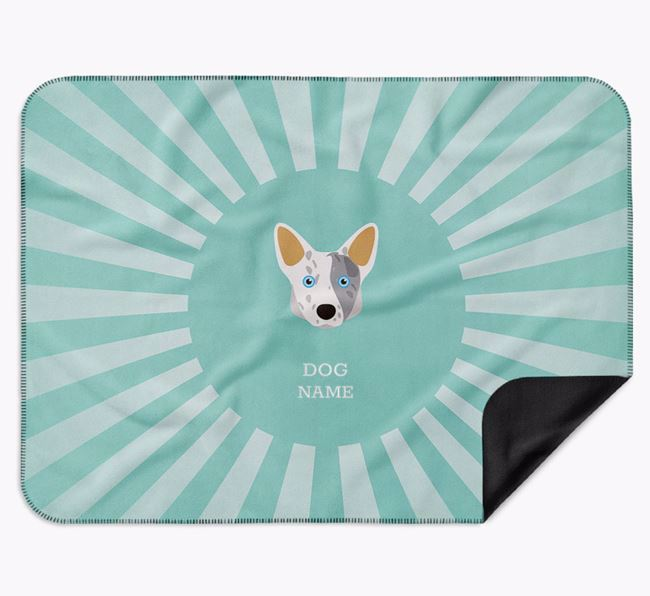 Personalised Rays Blanket for your Corgi