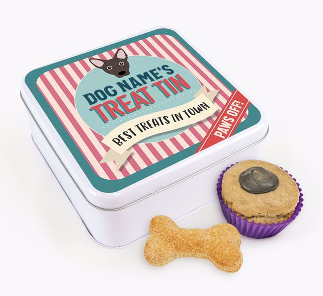 'Best Treats in Town' Square Tin for your Cojack