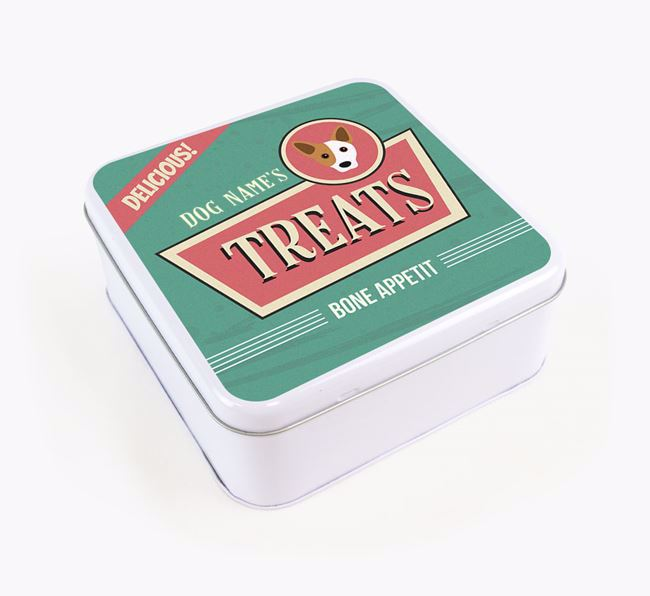 Personalised Retro Square Tin for your Cojack