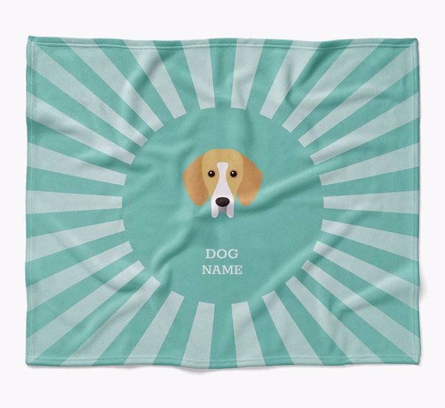 Personalized Rays Blanket for your Bassador